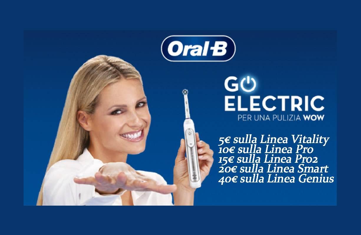 Fino al 15 GIUGNO - Oral-B GO ELECTRIC iniziativa