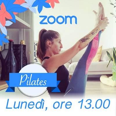 Pilates Online Lunedì h. 13.00
