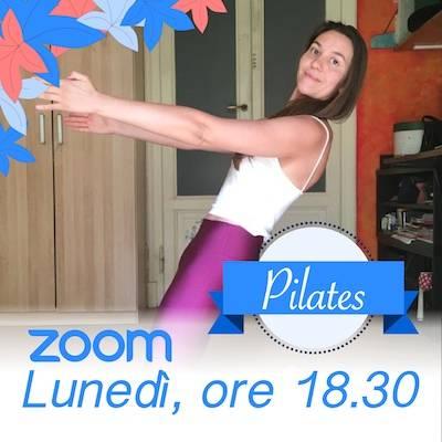 Pilates Online Lunedì h. 18.30