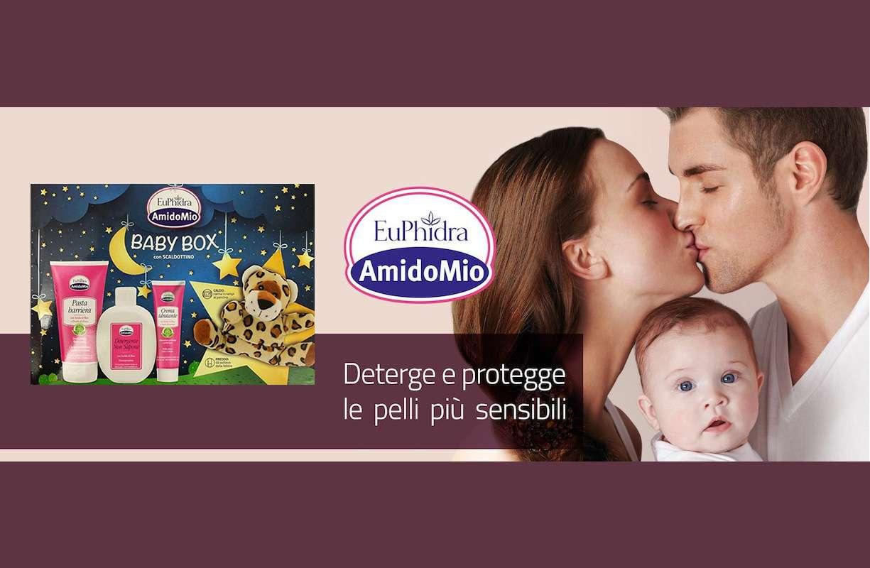 NOVITA' Euphidra Baby Box - 3 prodotti + un peluche OMAGGIO