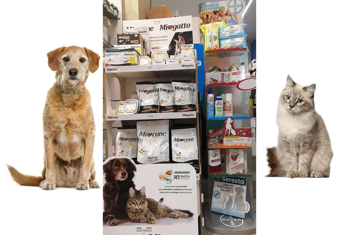 L'Angolo veterinario: prodotti per una sana alimentazione, per la salute e l'igiene degli animali domestici