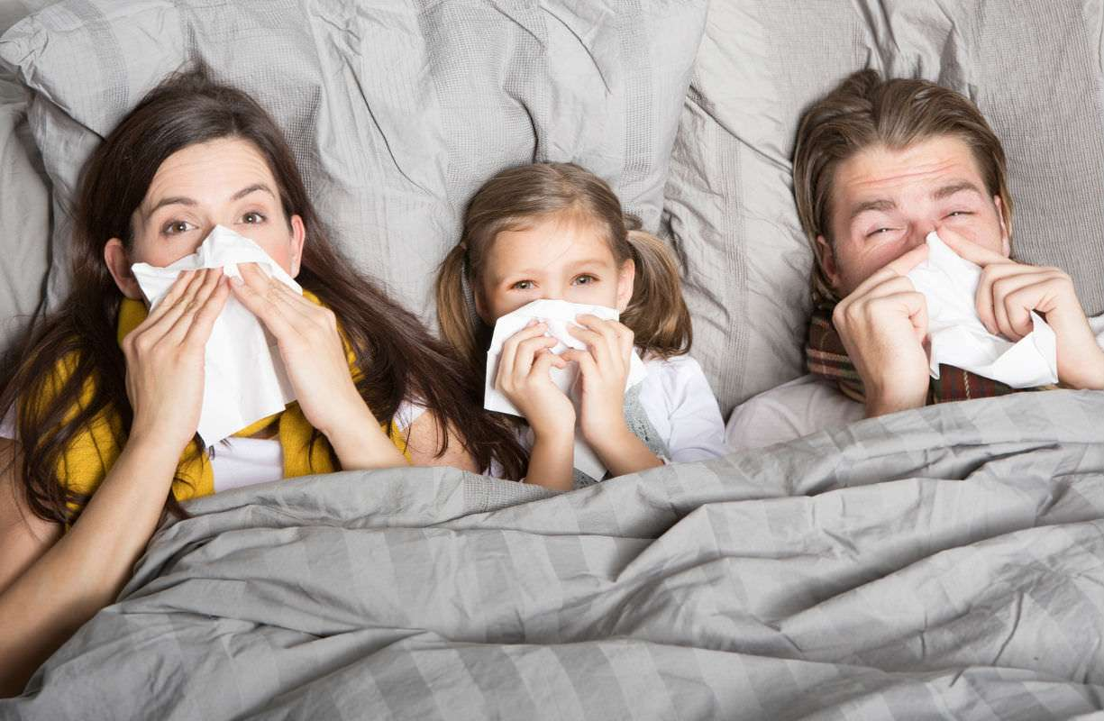 Influenza sintomi e cure