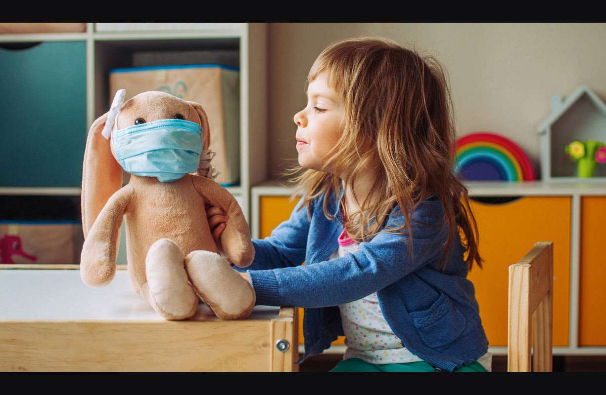 Mascherina e bambini sotto i 6 anni: quando e come usarle