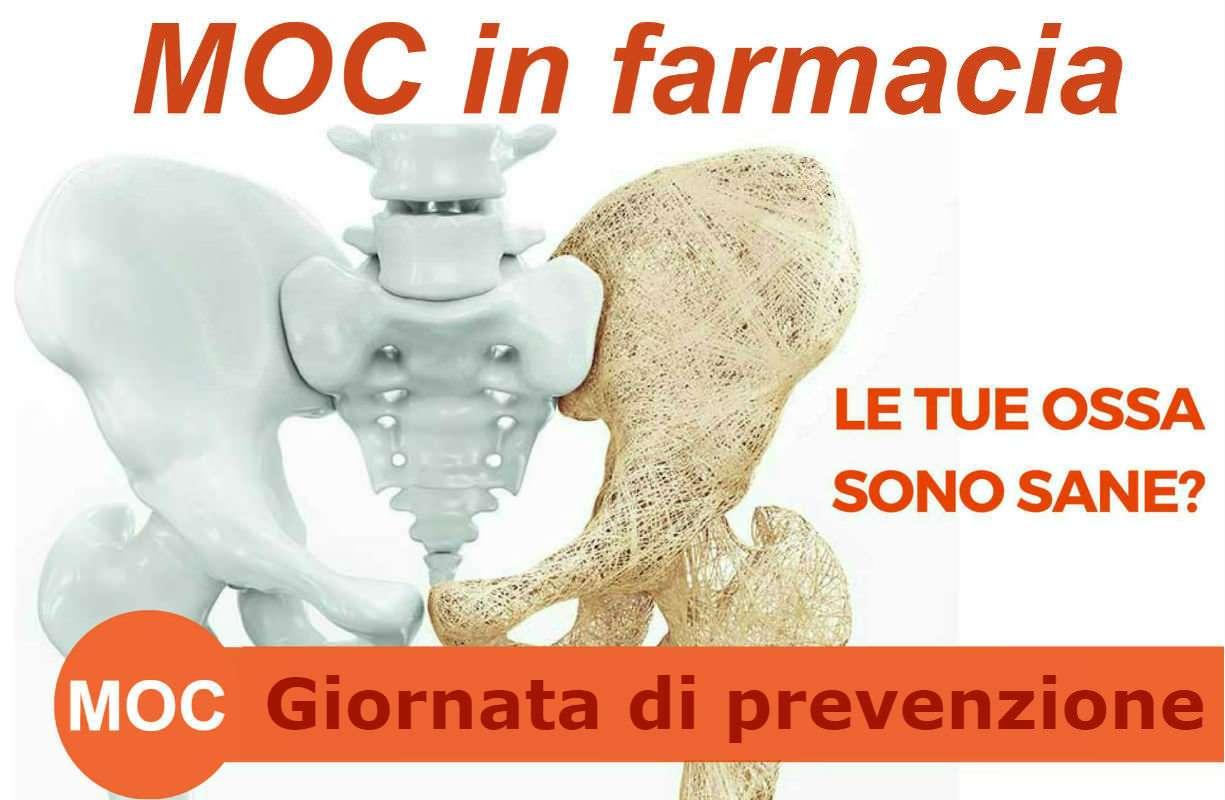 Venerdì 13 NOVEMBRE - Previeni l'osteoporosi! arriva la MOC in farmacia