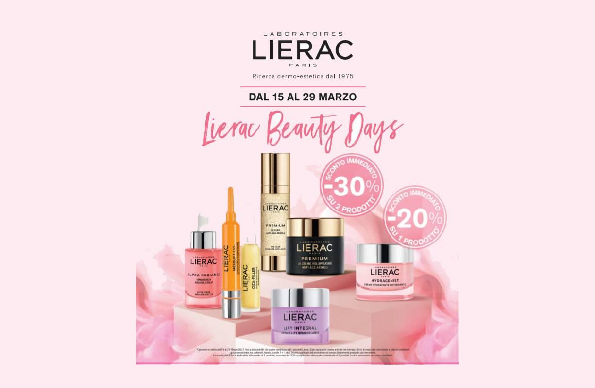 Lierac PROMOZIONE Sconti Beauty Days