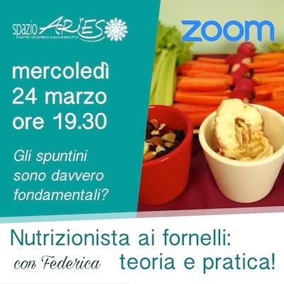 Nutrizionista ai fornelli: 24 marzo ore 19.30