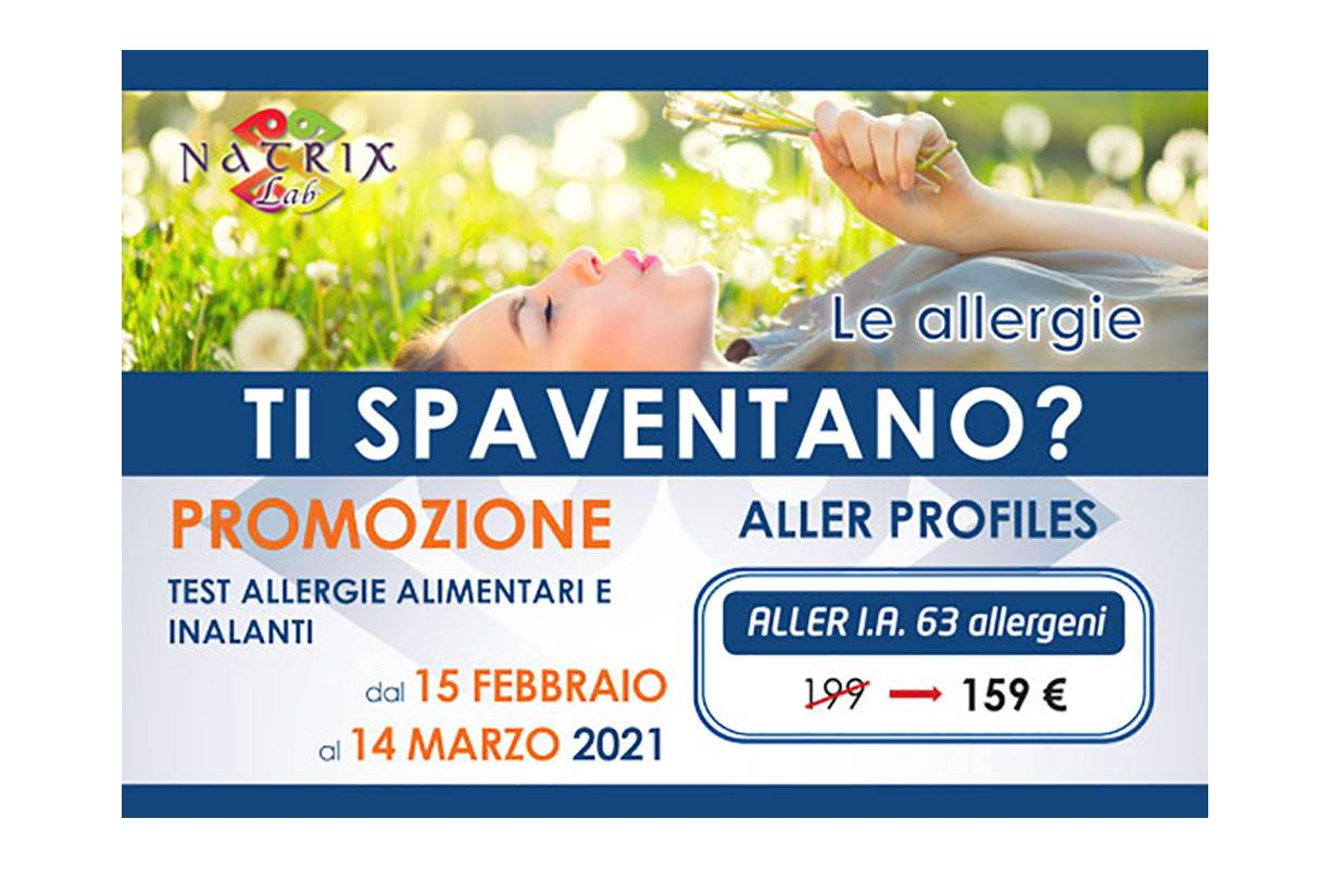 Fino al 14 MARZO - Campagna allergie stagionali