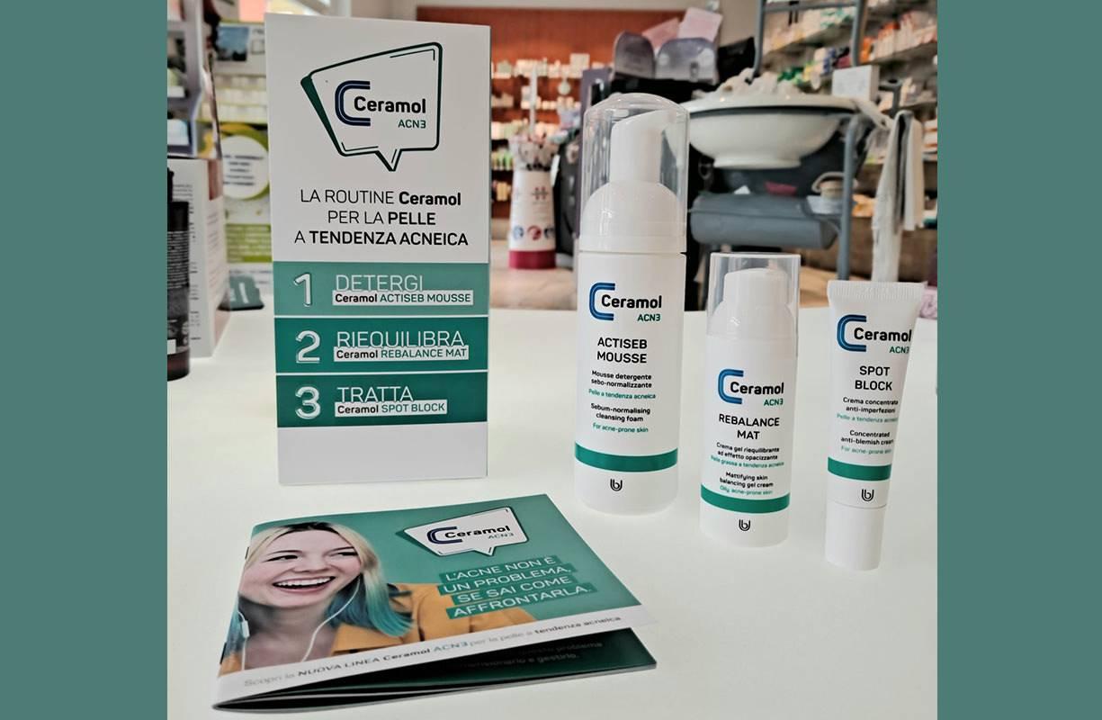 CERAMOL coadiuvanti cosmetici per i disturbi della pelle