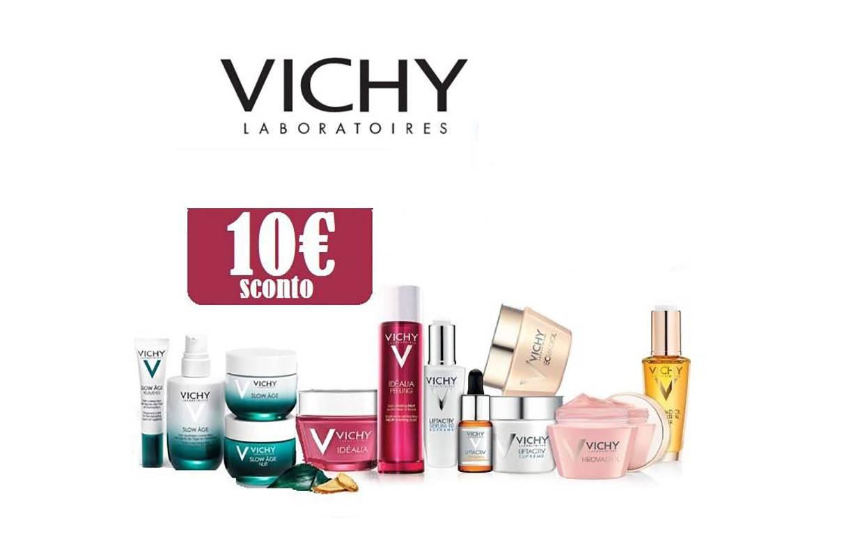 Fino al 31 MARZO - Sconto €10 sull'acquisto di un prodotto VICHY