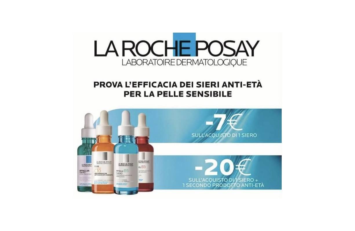 dal 01 APRILE al 31 MAGGIO La Roche Posay PROMOZIONE