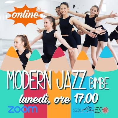 Modern Jazz bimbe Lunedì h. 17.00
