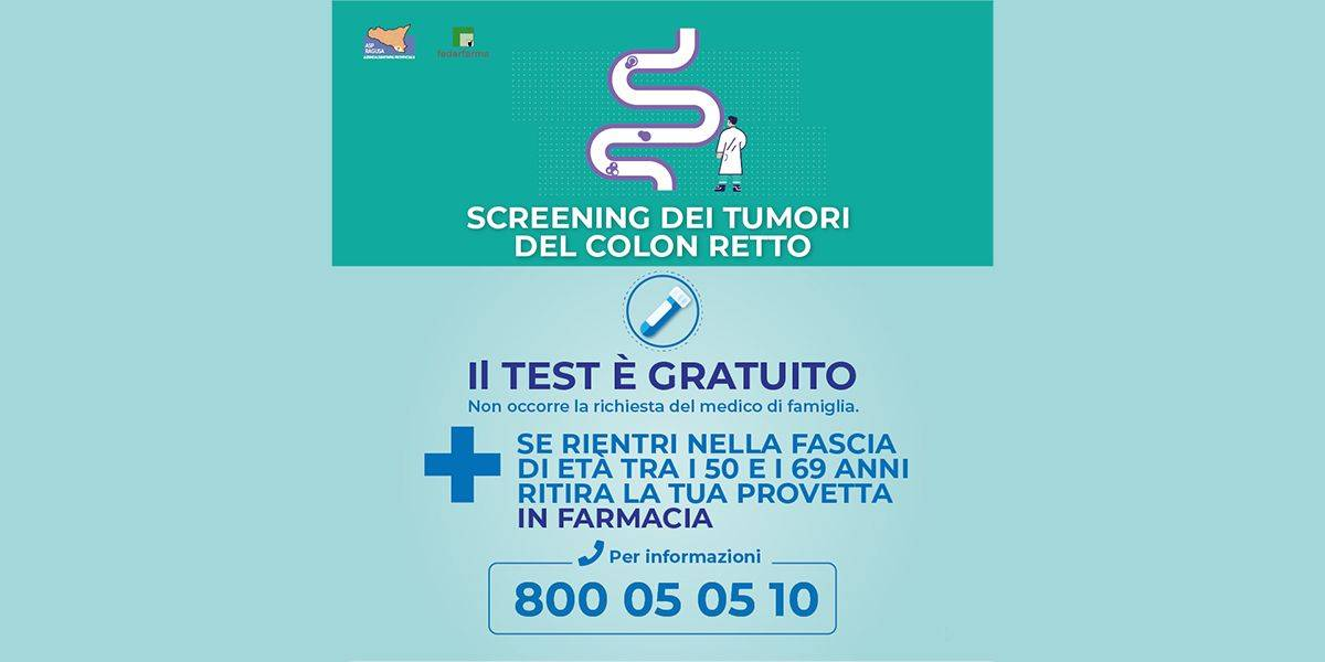 Screening colon retto