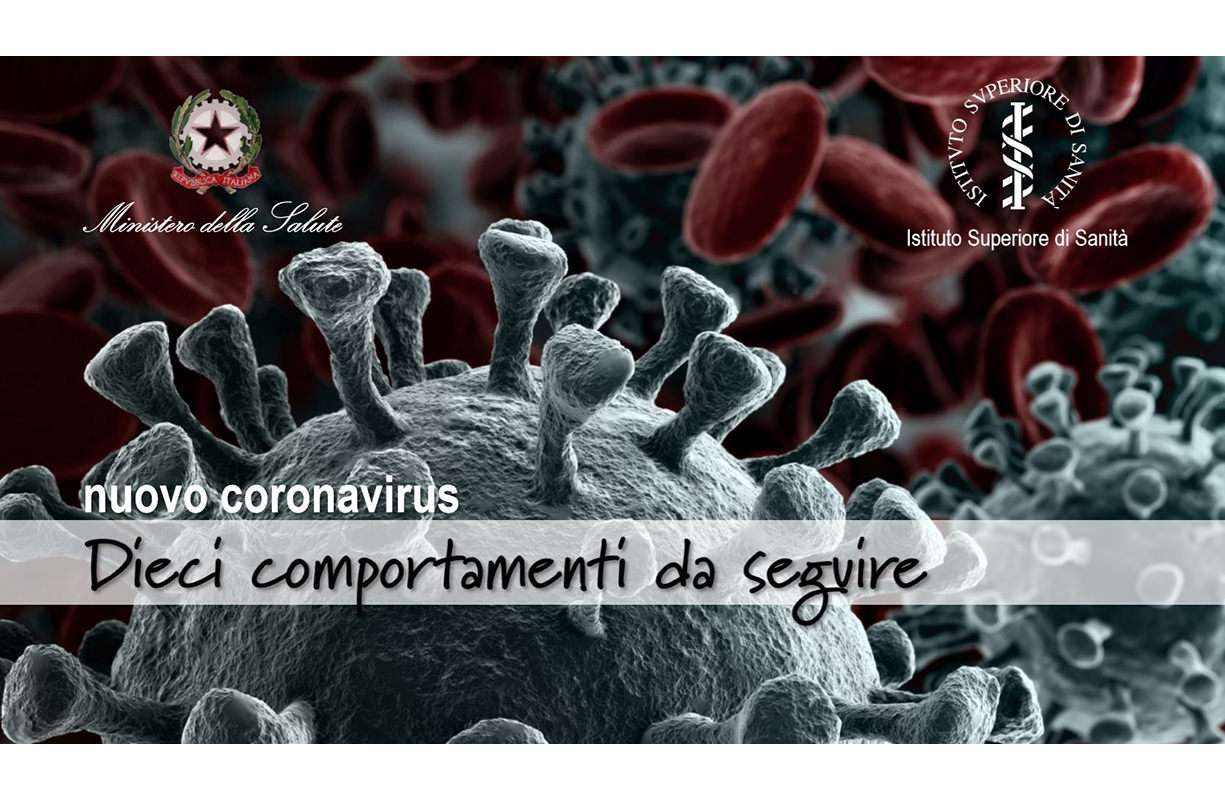Nuovo coronavirus - Dieci comportamenti da seguire