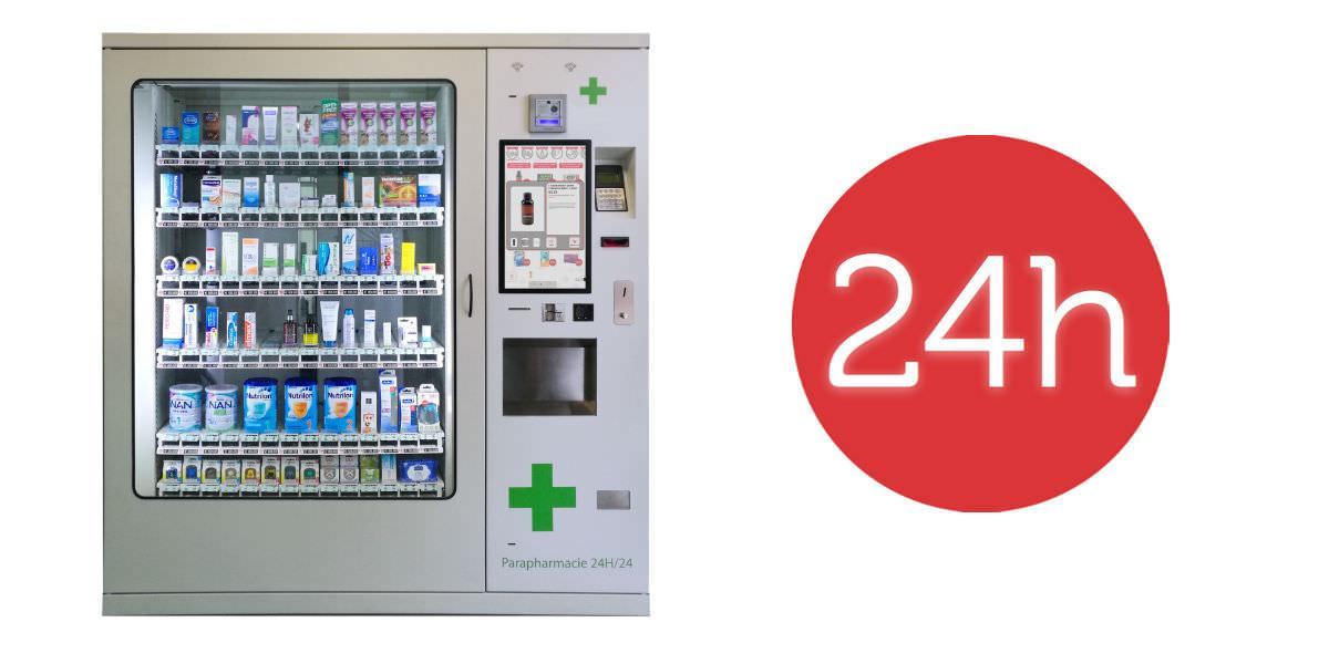 Distributore farmaco 24h