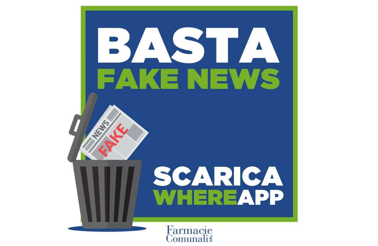 BASTA FAKE NEWS, SCARICA WHEREAPP