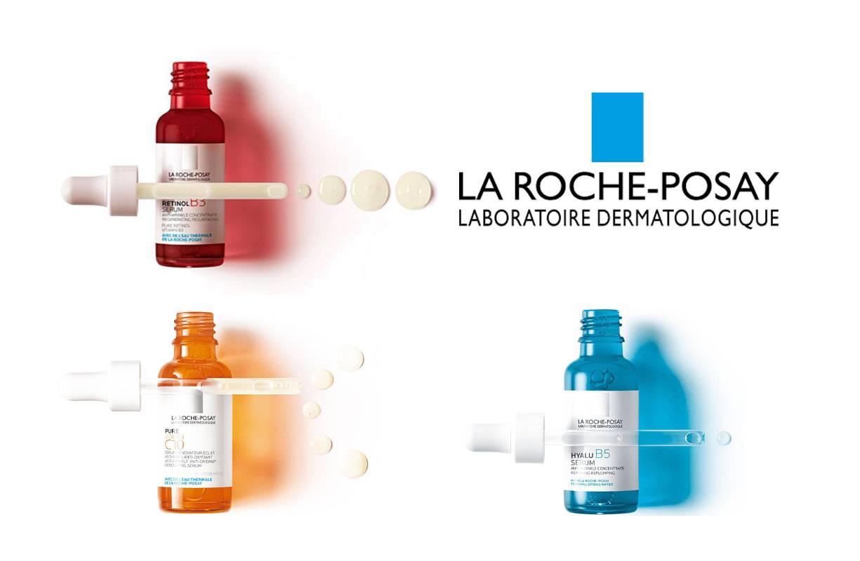 La Roche Posay - Il trio perfetto!!!