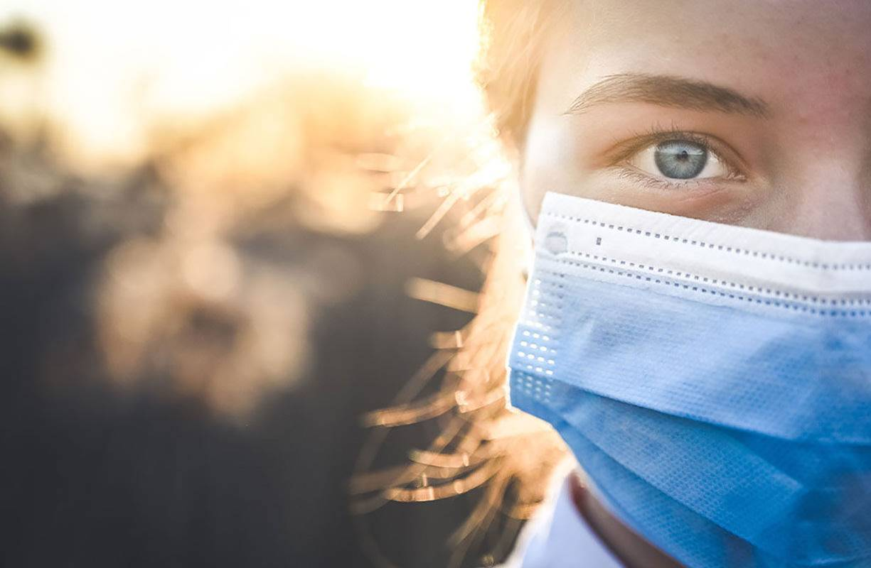 Idratazione e detersione della pelle anche e soprattutto in conseguenza dell'uso delle mascherine