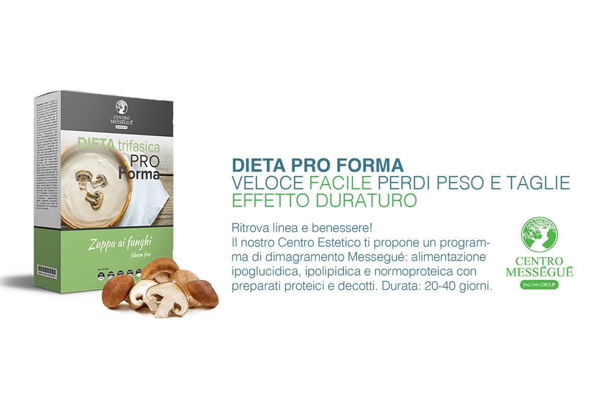 Centro Messegue dieta Pro Forma
