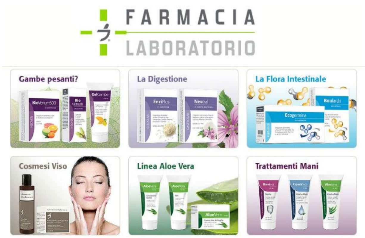 Nuova linea della farmacia - Laboratorio della farmacia