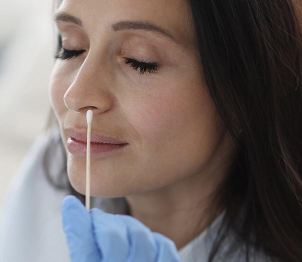 Tampone antigenico rapido nasale Adulti e Bambini