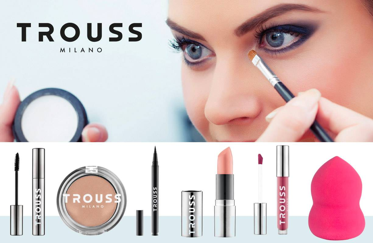 Trouss Milano nuova linea cosmetica Make-up!