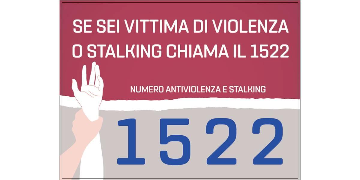 Numero antiviolenza e stalking