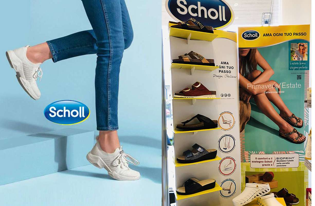 DR. SCHOLL - Disponibile in farmacia collezione ESTATE '20