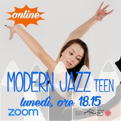 Modern Jazz Teenager Lunedì ore 18.15
