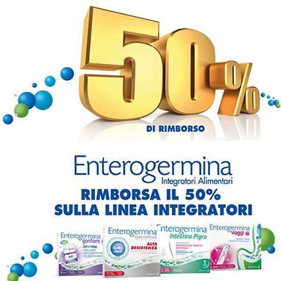 Enterogermina rimborsa il 50%