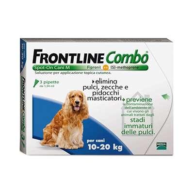 FRONTLINE COMBO 10-20KG 3PIPETTE