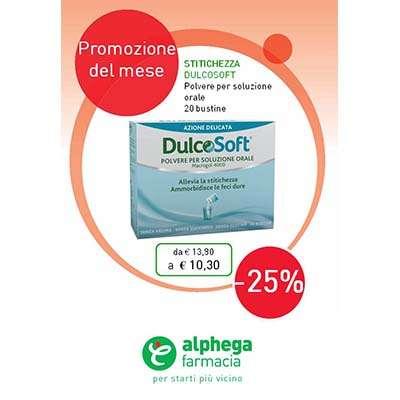 DulcoSoft Stitichezza - 20 bustine