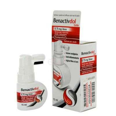 Benactivdol spray