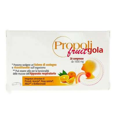 Propoli fruit gola 20cpr