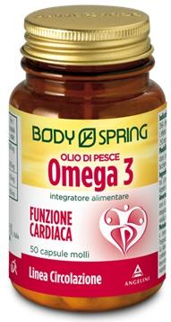 BODY SPRING OMEGA 3 OLIO DI PESCE 50 CPS