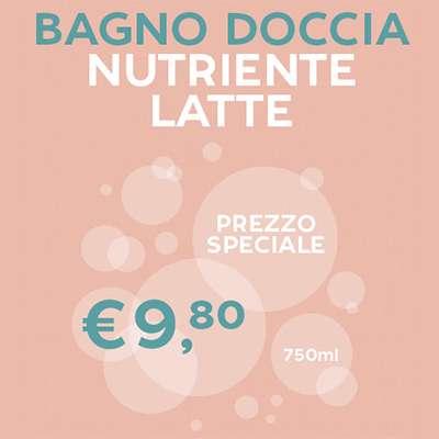 PROMO DEL MESE - Bagno doccia nutriente formato famiglia 750 ml