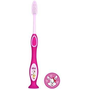 Chicco spazzolino rosa o blu 3-6 anni