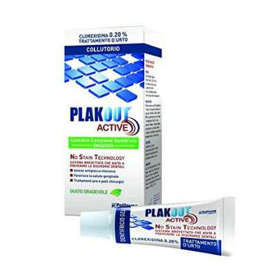 Plak out collutorio 0,20% + dentifricio OMAGGIO
