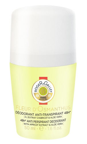 ROGER&GALLET FLEUR D'OSMANTHUS DEODORANTE ROLL-ON 50ML