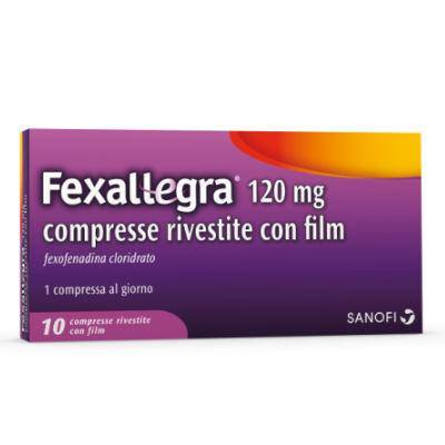 FEXALLEGRA 10CPR RIV 120MG