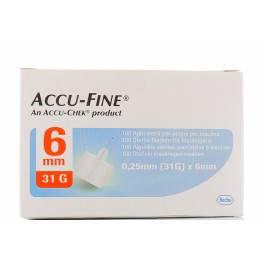 ACCU-FINE AGO G31 6MM 100PZ