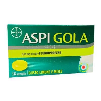 Aspi Gola 16 pastiglie limone e miele
