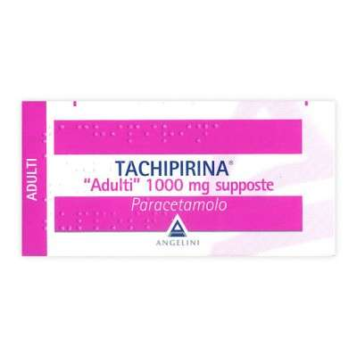 Tachipirina supposte 125, 250, 500, 62,5, 1000mg