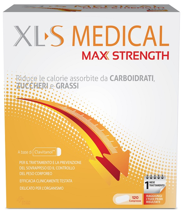 XLS MEDICAL MAX STRENGTH  INTEGRATORE DIMAGRANTE 120CPR