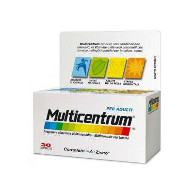 MULTICENTRUM ADULTI 30 cpr