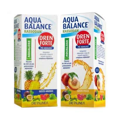 Aqua balance gusto pesca e ananas