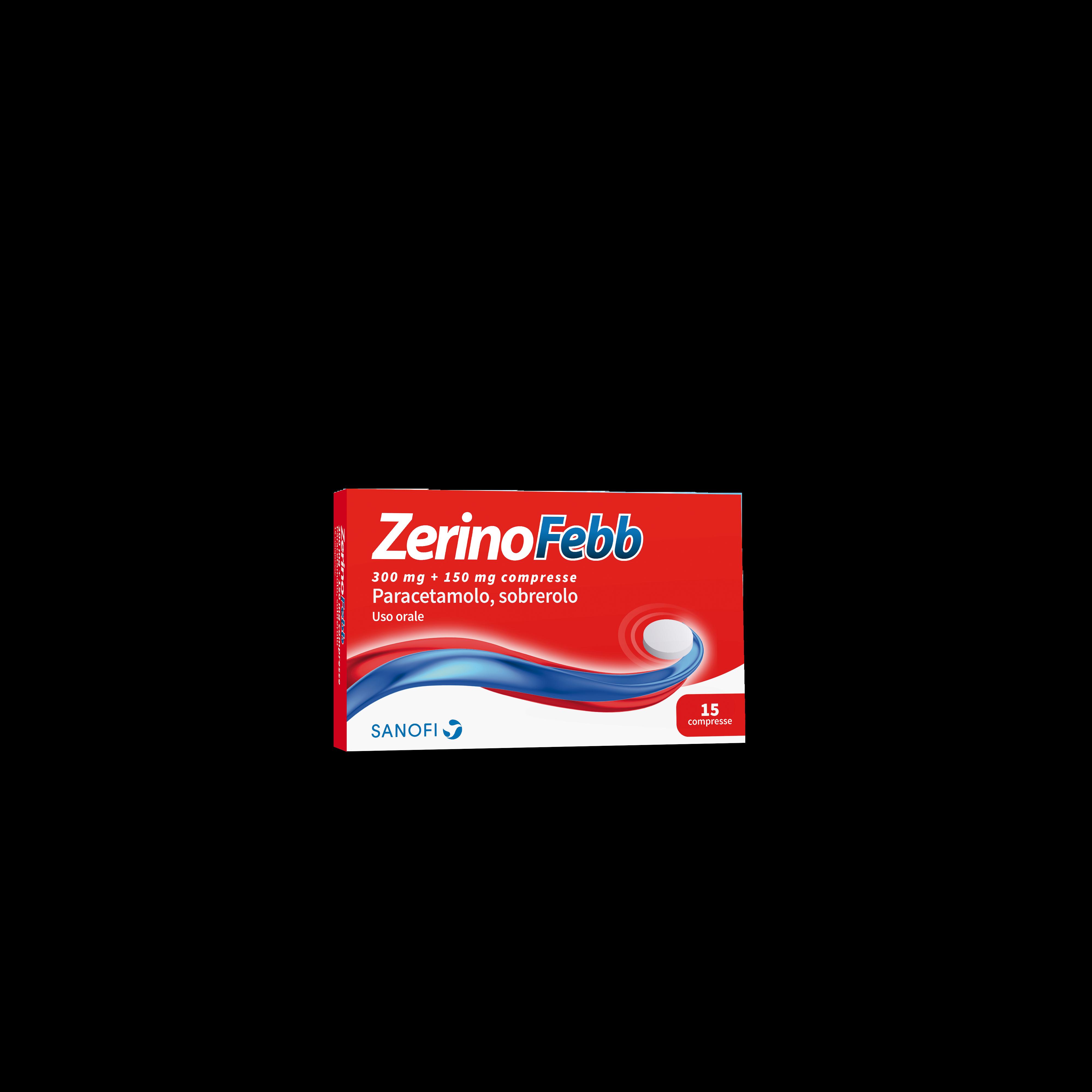 ZERINOFEBB*AD 15CPR 300+150MG