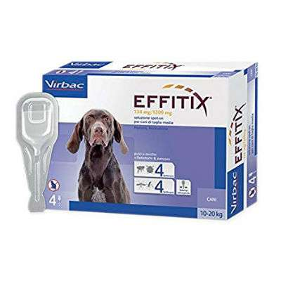 EFFITIX*4PIP 2,20ML 134+1200MG