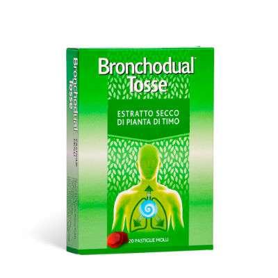 Bronchodual tosse 20 pastiglie