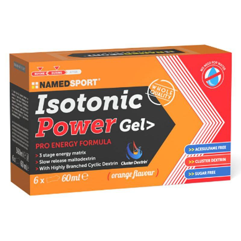 NAMED SPORT Box isotonic power gel