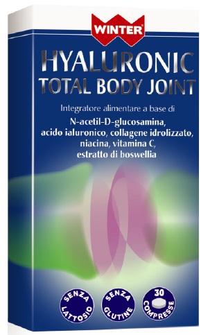 HYALURONIC TOTAL BODY JOINT INTEGRATORE ARTICOLAZIONI 30CPR WINTER